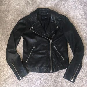 Madewell leather jacket